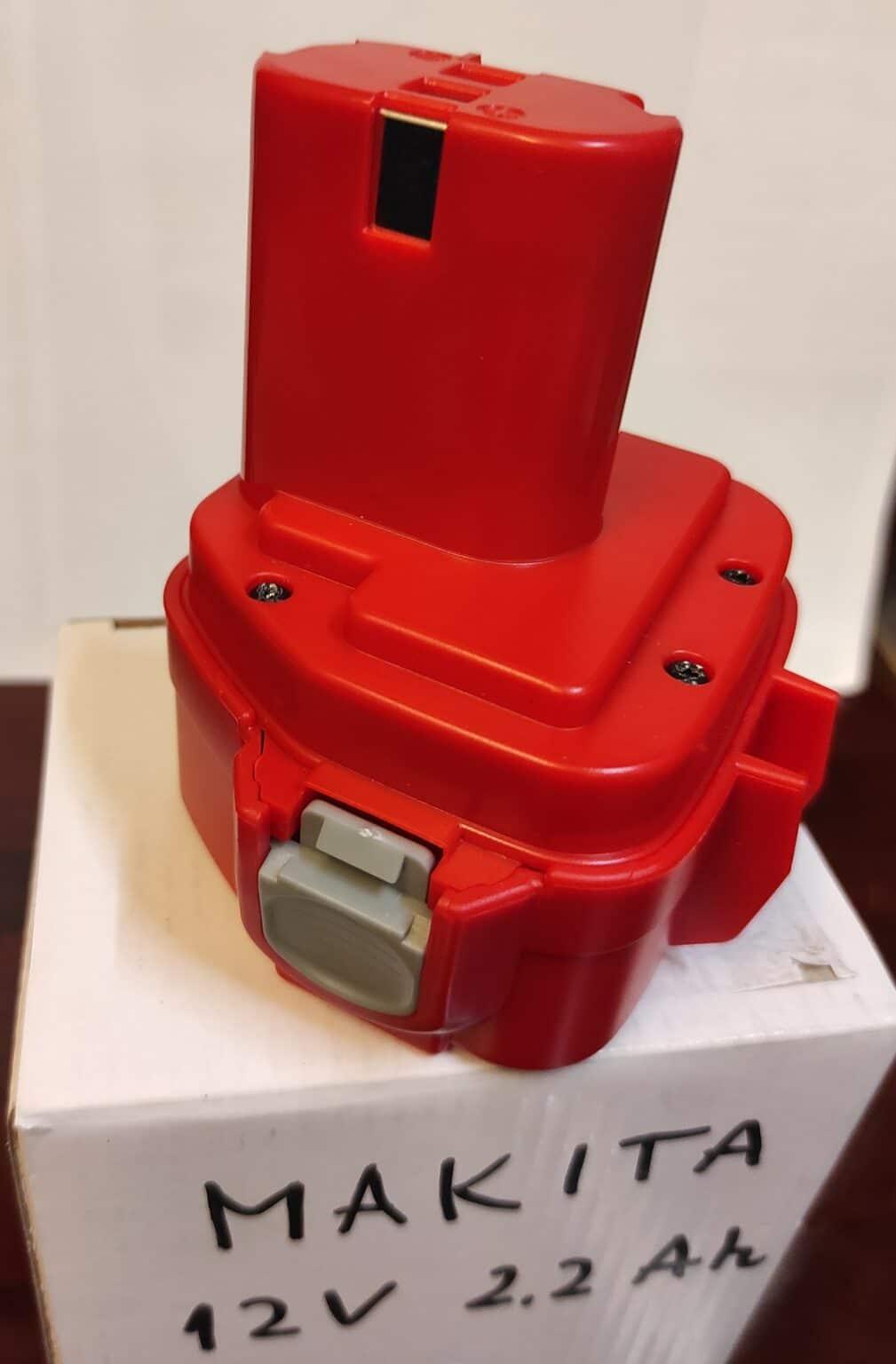 12V Ni-Mh Battery for MAKITA 192698-8 193157-5, Replaced